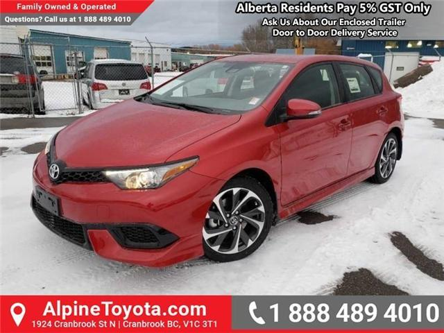 2018 Toyota Corolla iM Base (Stk: J575536) in Cranbrook - Image 1 of 15