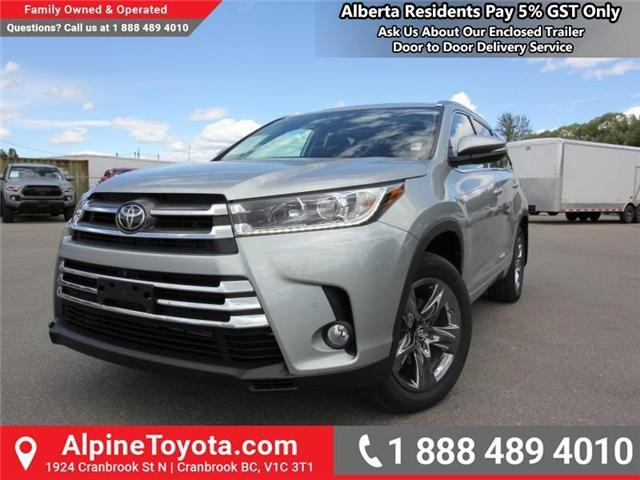 2018 Toyota Highlander Limited (Stk: S875959) in Cranbrook - Image 1 of 18