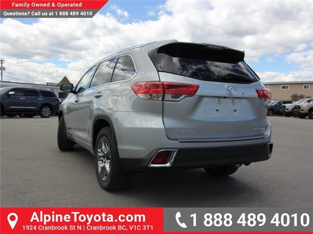 2018 Toyota Highlander Limited (Stk: S875959) in Cranbrook - Image 2 of 18