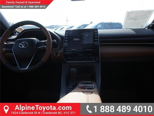 2019 Toyota Avalon Limited (Stk: U013763) in Cranbrook - Image 10 of 18