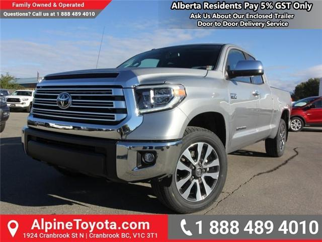 2019 Toyota Tundra Limited 5.7L V8 (Stk: X780663) in Cranbrook - Image 1 of 18