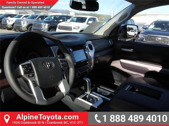 2019 Toyota Tundra Limited 5.7L V8 (Stk: X780663) in Cranbrook - Image 9 of 18