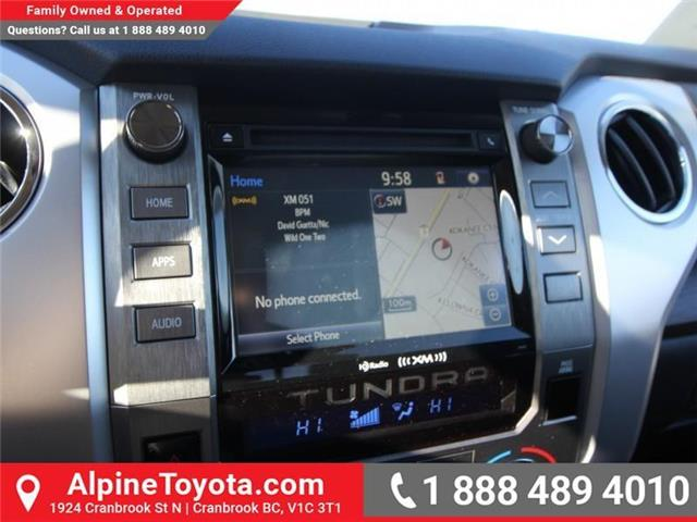 2019 Toyota Tundra Limited 5.7L V8 (Stk: X780663) in Cranbrook - Image 13 of 18