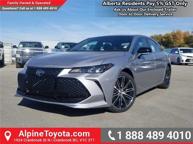 2019 Toyota Avalon XSE (Stk: U016178) in Cranbrook - Image 1 of 18