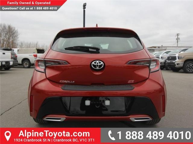 2019 Toyota Corolla Hatchback SE Upgrade Package (Stk: 3019456) in Cranbrook - Image 4 of 17