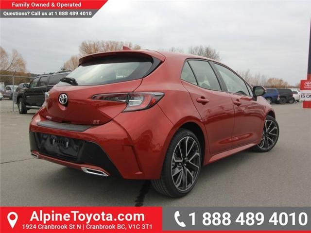 2019 Toyota Corolla Hatchback SE Upgrade Package (Stk: 3019456) in Cranbrook - Image 5 of 17