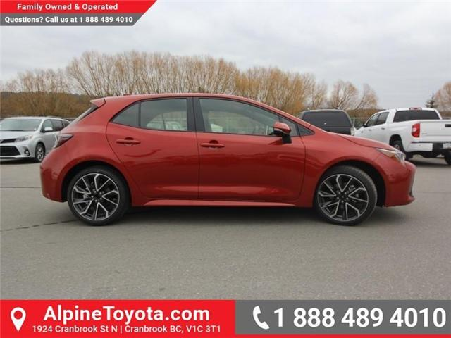 2019 Toyota Corolla Hatchback SE Upgrade Package (Stk: 3019456) in Cranbrook - Image 6 of 17