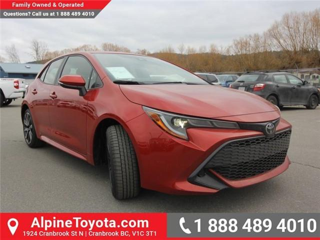 2019 Toyota Corolla Hatchback SE Upgrade Package (Stk: 3019456) in Cranbrook - Image 7 of 17