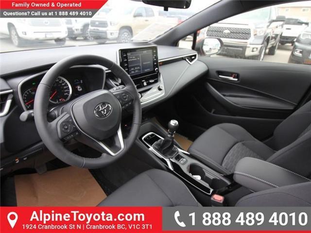 2019 Toyota Corolla Hatchback SE Upgrade Package (Stk: 3019456) in Cranbrook - Image 9 of 17