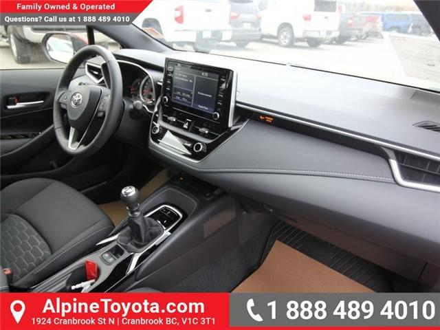 2019 Toyota Corolla Hatchback SE Upgrade Package (Stk: 3019456) in Cranbrook - Image 11 of 17