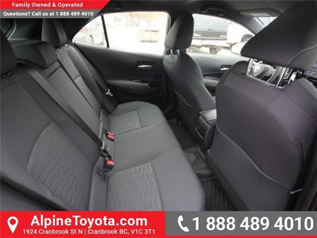 2019 Toyota Corolla Hatchback SE Upgrade Package (Stk: 3019456) in Cranbrook - Image 12 of 17