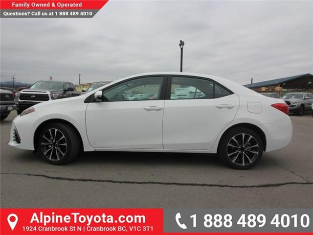 2019 Toyota Corolla XSE Package (Stk: C193773) in Cranbrook - Image 2 of 18
