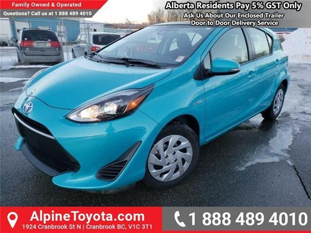 2019 Toyota Prius C Upgrade Package (Stk: 1623512) in Cranbrook - Image 1 of 15