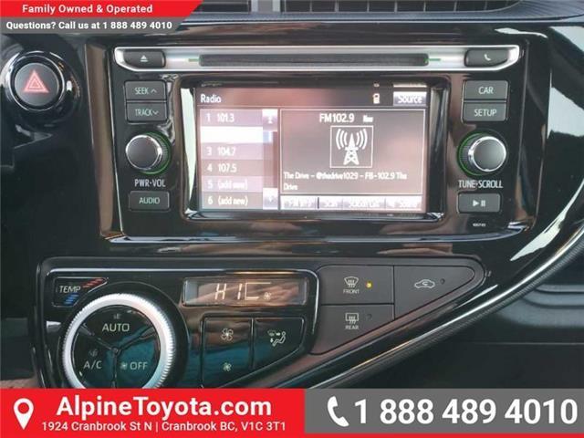 2019 Toyota Prius C Upgrade Package (Stk: 1623512) in Cranbrook - Image 12 of 15