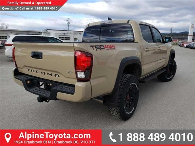 2019 Toyota Tacoma TRD Off Road (Stk: X176187) in Cranbrook - Image 5 of 18