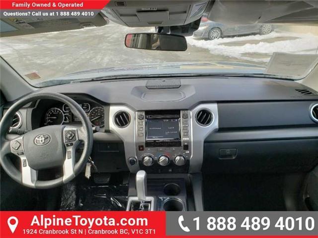 2019 Toyota Tundra SR 4.6L V8 (Stk: X081345) in Cranbrook - Image 10 of 14