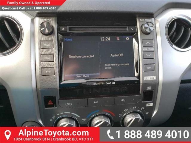 2019 Toyota Tundra SR 4.6L V8 (Stk: X081345) in Cranbrook - Image 12 of 14