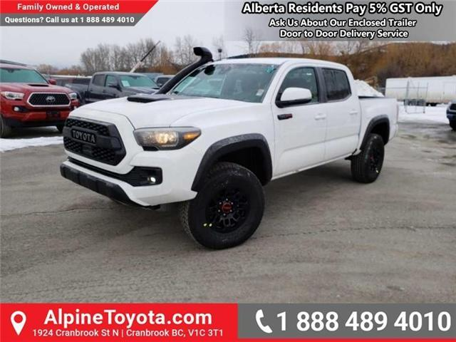 2019 Toyota Tacoma TRD Sport (Stk: X177229) in Cranbrook - Image 1 of 16