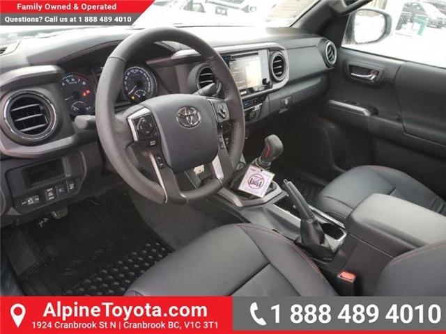 2019 Toyota Tacoma TRD Sport (Stk: X177229) in Cranbrook - Image 9 of 16