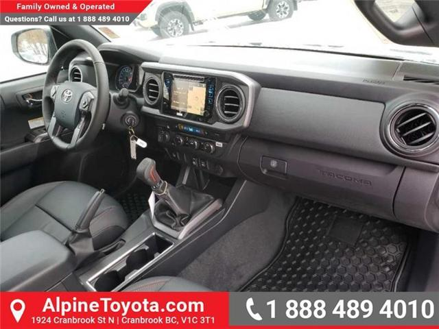 2019 Toyota Tacoma TRD Sport (Stk: X177229) in Cranbrook - Image 11 of 16