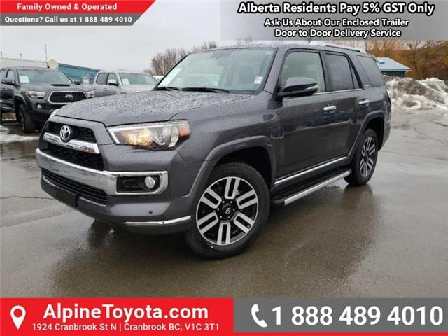 2019 Toyota 4Runner SR5 (Stk: 5660221) in Cranbrook - Image 1 of 17