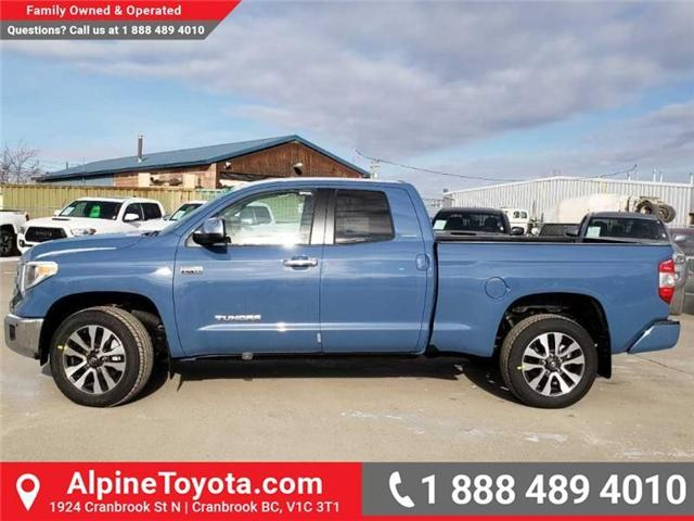 2019 Toyota Tundra Limited 5.7L V8 (Stk: X813922) in Cranbrook - Image 2 of 15