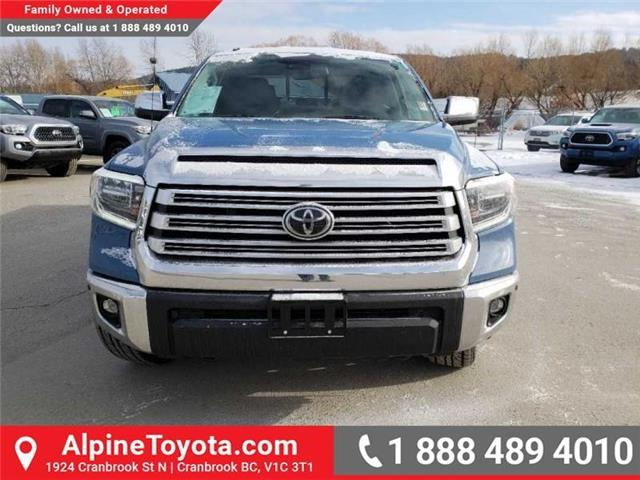 2019 Toyota Tundra Limited 5.7L V8 (Stk: X813922) in Cranbrook - Image 8 of 15