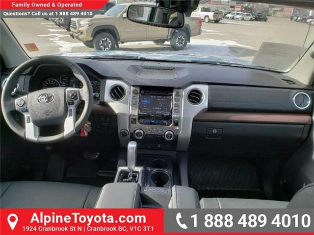 2019 Toyota Tundra Limited 5.7L V8 (Stk: X813922) in Cranbrook - Image 10 of 15