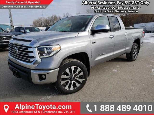 2019 Toyota Tundra Limited 5.7L V8 (Stk: X815531) in Cranbrook - Image 1 of 15
