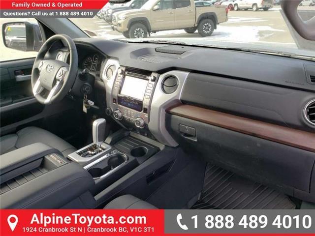 2019 Toyota Tundra Limited 5.7L V8 (Stk: X815531) in Cranbrook - Image 11 of 15