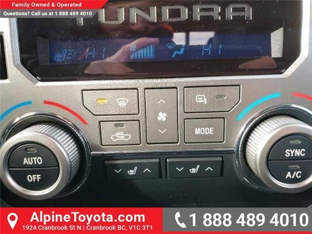 2019 Toyota Tundra Limited 5.7L V8 (Stk: X815531) in Cranbrook - Image 13 of 15