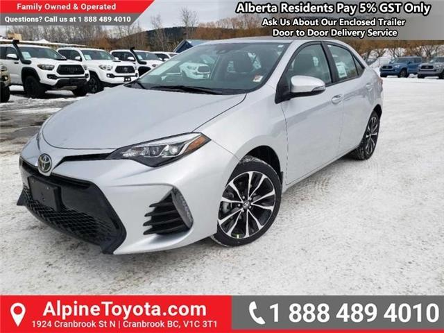 2019 Toyota Corolla XSE Package (Stk: C236138) in Cranbrook - Image 1 of 15