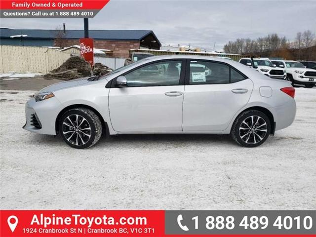 2019 Toyota Corolla XSE Package (Stk: C236138) in Cranbrook - Image 2 of 15