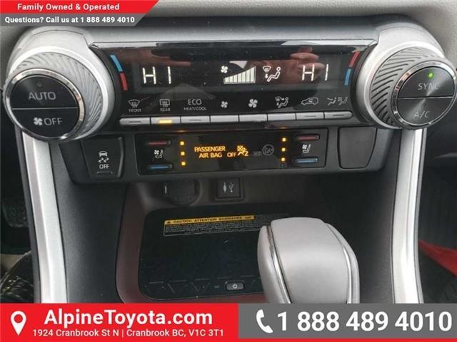 2019 Toyota RAV4 Limited (Stk: W018817) in Cranbrook - Image 13 of 19