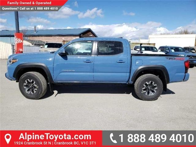2019 Toyota Tacoma TRD Off Road (Stk: X183655) in Cranbrook - Image 2 of 15