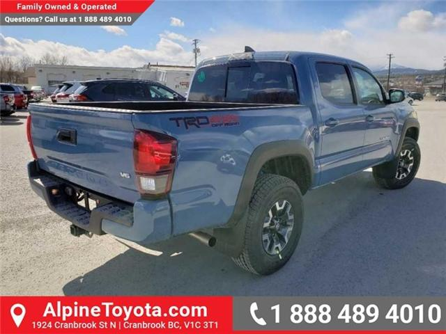 2019 Toyota Tacoma TRD Off Road (Stk: X183655) in Cranbrook - Image 5 of 15