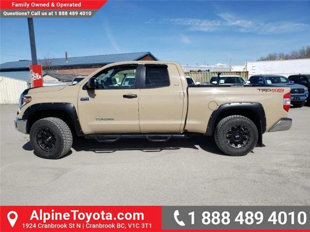 2018 Toyota Tundra  (Stk: X681657) in Cranbrook - Image 2 of 19