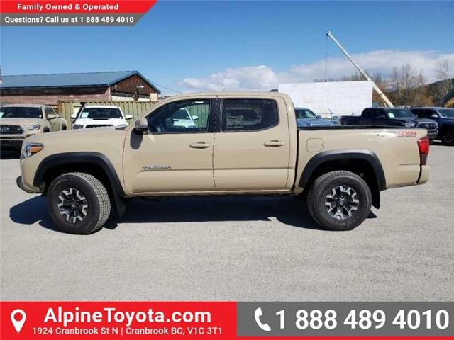 2019 Toyota Tacoma TRD Off Road (Stk: X185409) in Cranbrook - Image 2 of 15