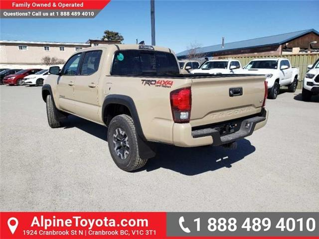 2019 Toyota Tacoma TRD Off Road (Stk: X185409) in Cranbrook - Image 3 of 15
