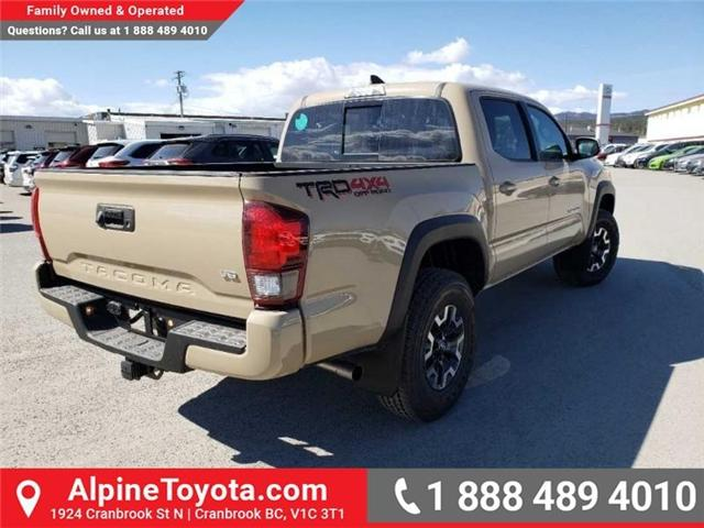 2019 Toyota Tacoma TRD Off Road (Stk: X185409) in Cranbrook - Image 5 of 15
