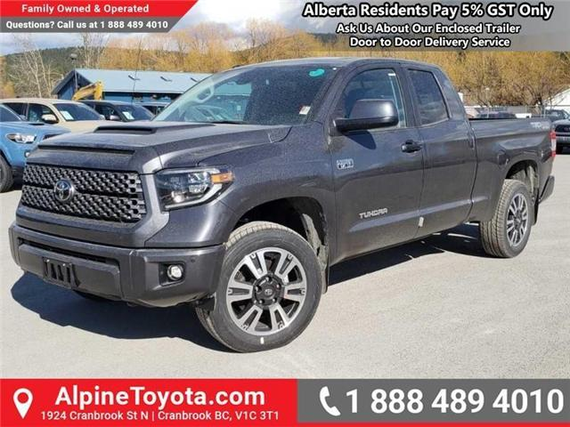 2019 Toyota Tundra TRD Sport Package (Stk: X825970) in Cranbrook - Image 1 of 14