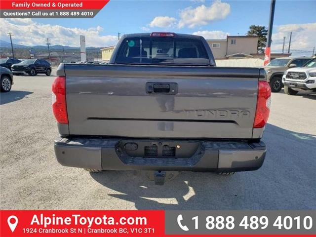 2019 Toyota Tundra TRD Sport Package (Stk: X825970) in Cranbrook - Image 4 of 14