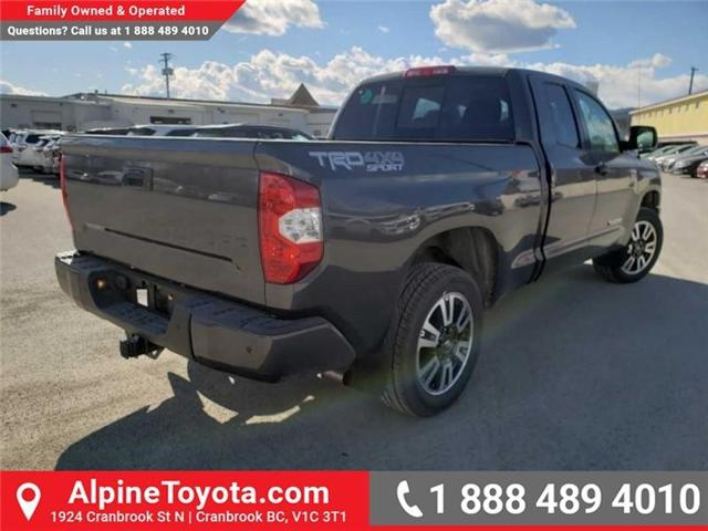 2019 Toyota Tundra TRD Sport Package (Stk: X825970) in Cranbrook - Image 5 of 14