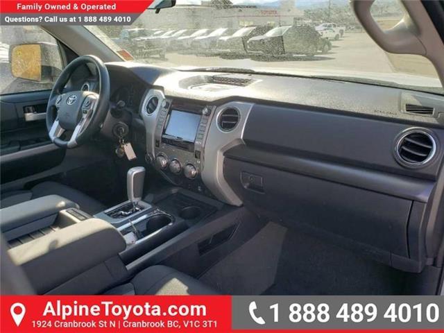2019 Toyota Tundra SR 4.6L V8 (Stk: X082189) in Cranbrook - Image 11 of 14