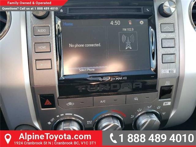 2019 Toyota Tundra SR 4.6L V8 (Stk: X082189) in Cranbrook - Image 12 of 14