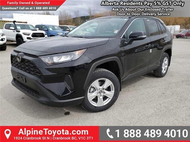 2019 Toyota RAV4 LE (Stk: W039390) in Cranbrook - Image 1 of 17