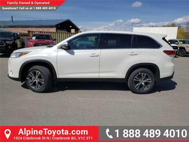 2019 Toyota Highlander LE (Stk: S975273) in Cranbrook - Image 2 of 15