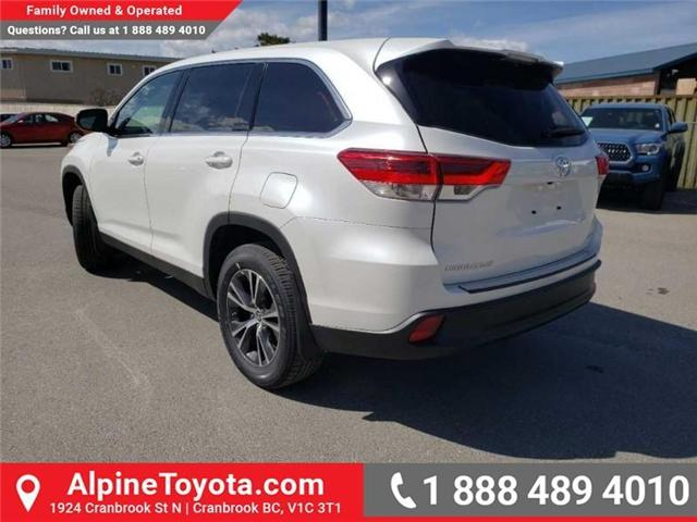 2019 Toyota Highlander LE (Stk: S975273) in Cranbrook - Image 3 of 15