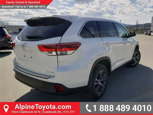 2019 Toyota Highlander LE (Stk: S975273) in Cranbrook - Image 5 of 15