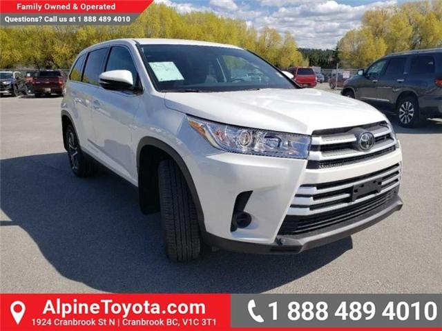 2019 Toyota Highlander LE (Stk: S975273) in Cranbrook - Image 7 of 15
